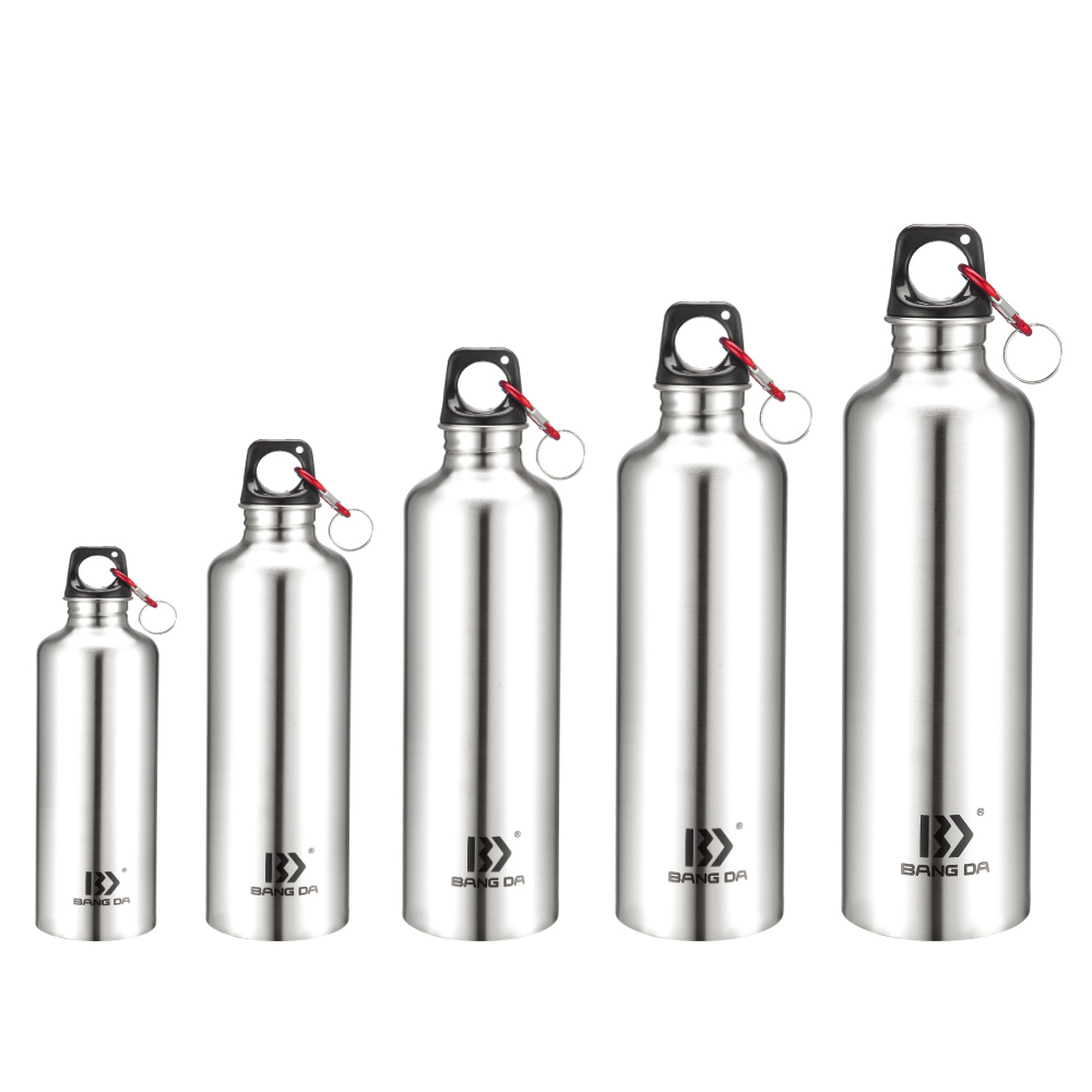 Stainless Steel Single Bottle With Carry Loop