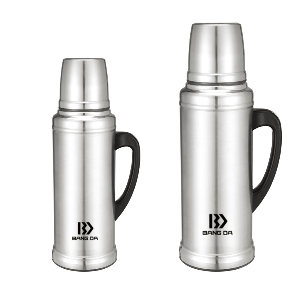 Big size Stainless steel water bottle with handle